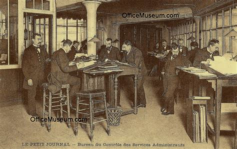 bureau administratif office photos 1910 1911