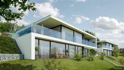 Moderne Häuser Balkon by Turmwiese Moderne Einfamilienh 228 User In Wil Sg