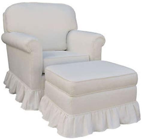 song white matelasse upholstered rocker glider chair