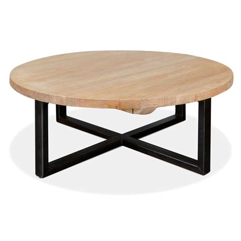 Round Coffee Table Arthur Reclaimed Round Coffee Table Interior Secrets
