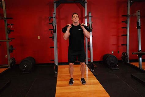 jerk kettlebell double enlarge exercise sequences