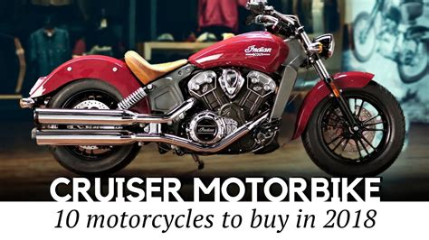 10 Best Cruiser Motorcycles For Different Riders (honest