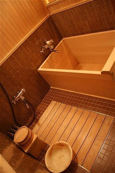 o furo,a typical wooden Japanese bath   Japanese Baths