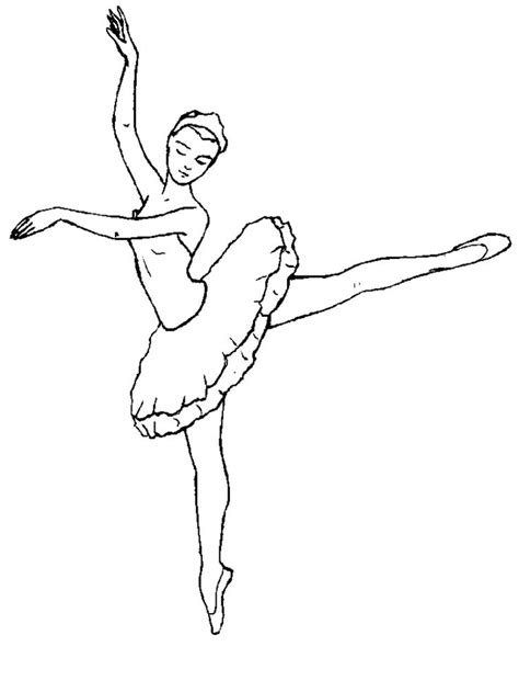 ballerina coloring pages ideas  pinterest