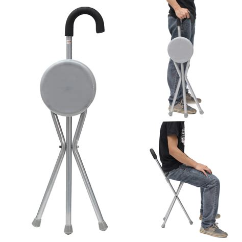 ipree outdoor travel folding stool chair portable tripod