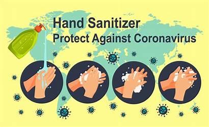 Sanitizer Coronavirus Against Protects Clipart Vecteezy Graphics