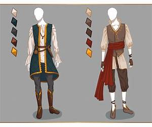 CLOSED Fashion adoptables - Male outfits #1 by Ayleidians.deviantart.com on @DeviantArt ...