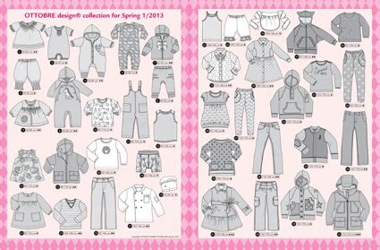 2013 6 ottobre addicts ottobre design kid 39 s fashion lente 2013 nr 1