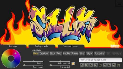 Graffiti Editor Online : Diseño Y Producción De La App Graffiti Creator Positivos