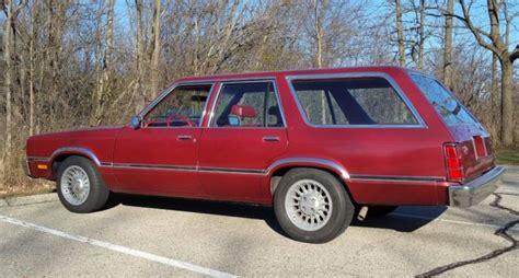 ford fairmont station wagon  owner  original