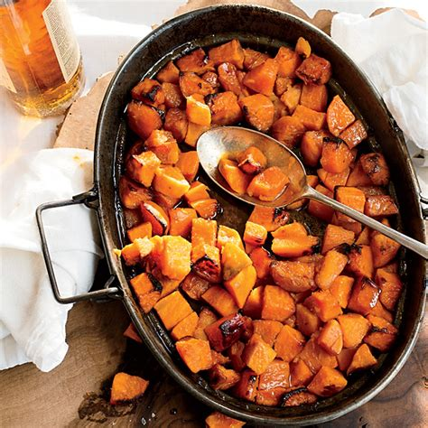 recipes with sweet potatoes candied sweet potatoes with bourbon recipe anthony bourdain food wine