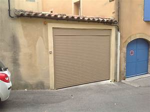 porte de garage enroulable somfy dootdadoocom idees With porte garage enroulable somfy