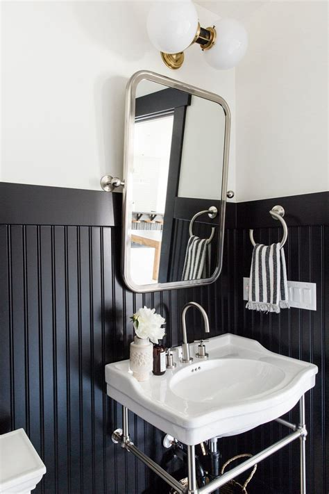 White Wainscoting Bathroom by The Sunday 7 Project Sneak Peaks Bathroom Styling