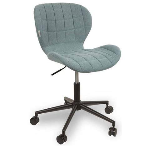 chaise de bureau bleu chaises tables et chaises zuiver chaise de bureau omg