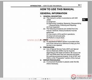 Toyota Scion Xb 2005-2007 Service  U0026 Repair Manual