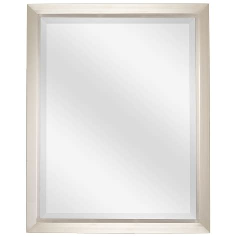 Bathroom Wall Mirrors Brushed Nickel by Revel 30 Quot Large Decorative Bathroom Wall Mirror