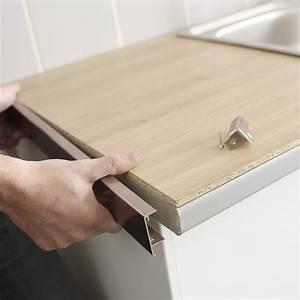 comment relooker ma cuisine leroy merlin With carrelage adhesif salle de bain avec profilé d angle pour led