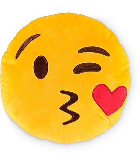 emoji throw pillows throwboy kissy emoji pillow at zumiez pdp
