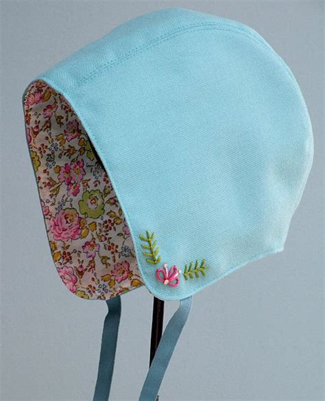 Baby Bonnet Sewing Pattern