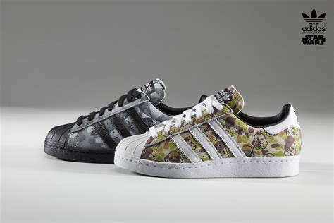adidas sort une collection de basket star wars