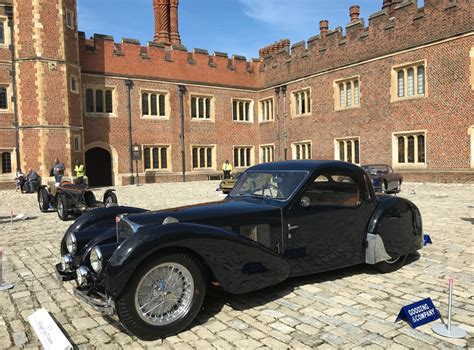 The car was put on display at the 1937 auto salon in nice and its subsequent history is not fully known. Classic and Collector Car Auction Reports and Results - Glenmarch
