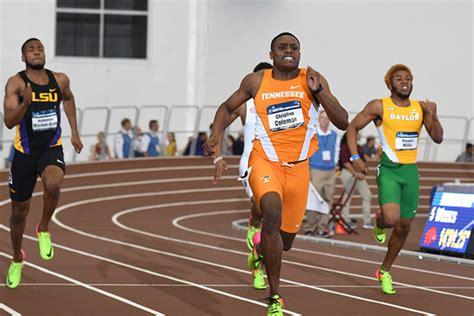 coleman speeds  sprint double  ncaa indoor