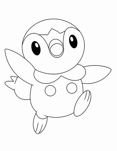 Pokemon Coloring Pages Fish Printable