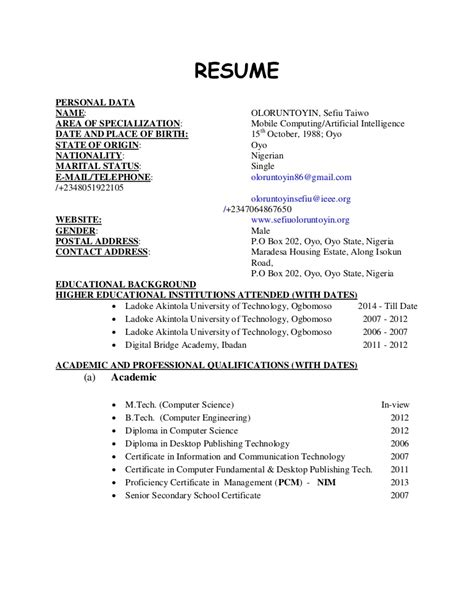 Software Tester Resume Sle Australia by Resume