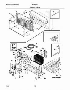 Frigidaire Fghb2844lf4 Refrigerator Parts And Accessories
