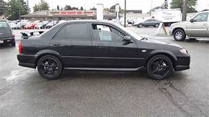 2003 Mazda Protege  Black - Stock  11205