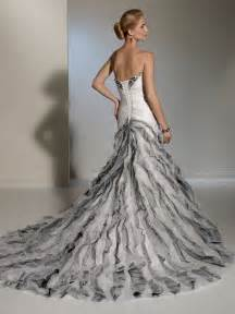 silver wedding dresses white and silver wedding dresses pictures ideas guide to buying stylish wedding dresses