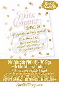 mas de 1000 ideas sobre baby time capsule en pinterest With first birthday letter time capsule