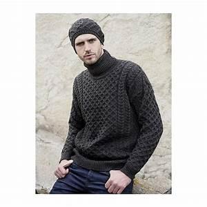 Pull Colle Roulé Homme : pull irlandais pour femme et homme col roul laine ~ Melissatoandfro.com Idées de Décoration