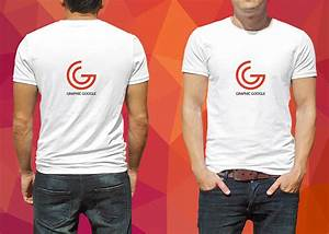 Front and back male t shirt mockup mockupworld for Front and back t shirt mockup