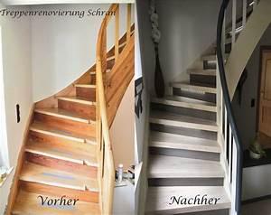Pvc Für Treppen : bildergalerie treppenrenovierung treppensanierung schran ~ Frokenaadalensverden.com Haus und Dekorationen