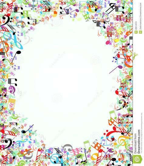cadre de musique illustration de vecteur image du musical 28614019