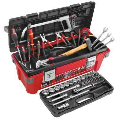 composition 12 outils de maintenance en trousse facom