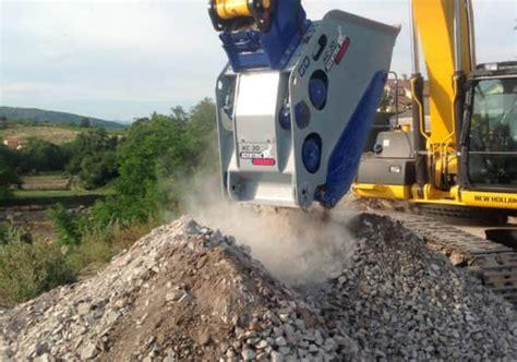 xcentric crusher buckets excavator attachments
