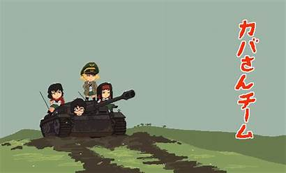 Panzer Anime Und Pixel Animated Gifs Saemonza