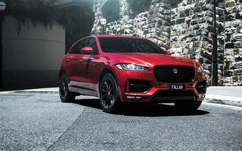 Download Wallpapers Jaguar F-pace S, 4k, Suvs, 2019 Cars