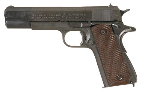 Excellent Mid Wwii Us Colt Model 1911a1 Semi Automatic