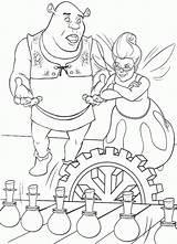 Shrek Coloring Pages Cartoons Colorear Dibujos Para sketch template