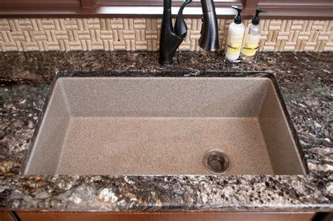 composite granite kitchen sinks composite sink countertop ideas the kienandsweet furnitures 5659