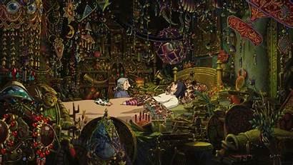 Ghibli Castle Moving Howls Studio Howl Wallpapers
