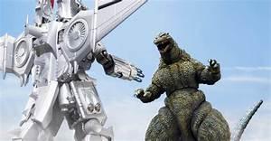 Tamashii Mix Mechagodzilla and SH MonsterArts Godzilla ...
