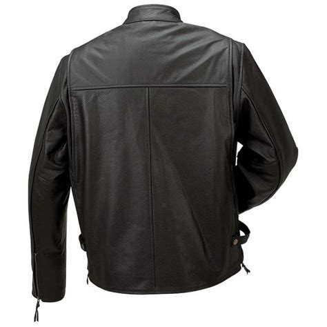 mens leather riding jacket men 39 s solid black leather riding jacket fully lined