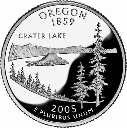 Oregon Quarter State Quarters Crater Lake 50states