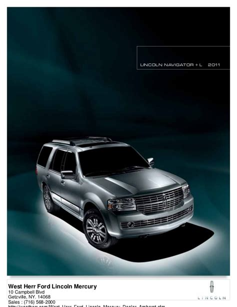 lincoln navigator west herr ford lincoln mercury ny