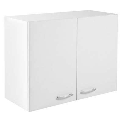 cuisine primalight meuble de cuisine haut 2 portes 80 cm blanc primalight 3