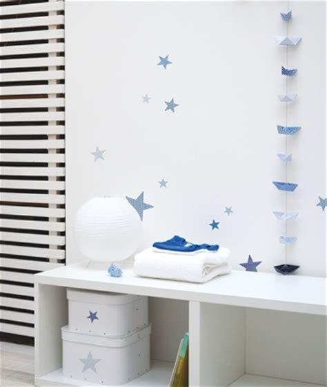 stickers étoile chambre bébé deco chambre bebe garcon etoile